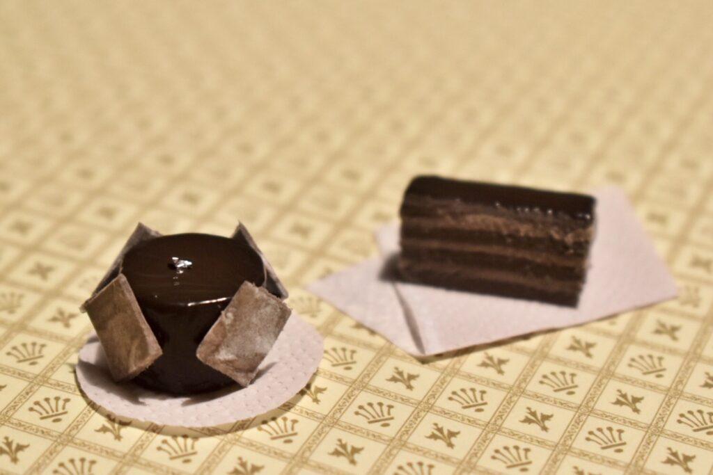 【受付開始】第5回 オー!ねんどオンラインレッスン :[メニュー]チョコレートケーキ